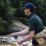 Fly Fishing/Tenkara for Cherry Salmon in Mountain Streams